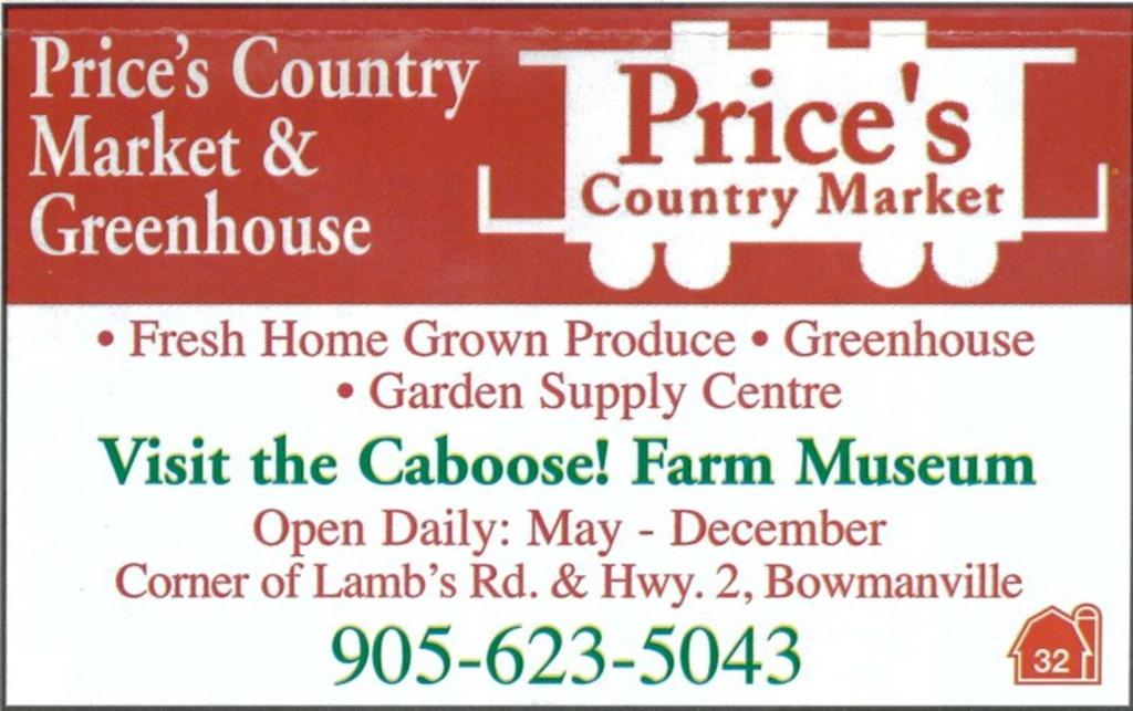 Price's market bowmanville